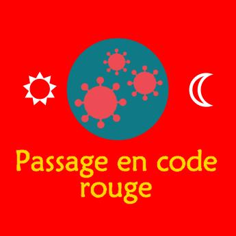 Passage en code rouge